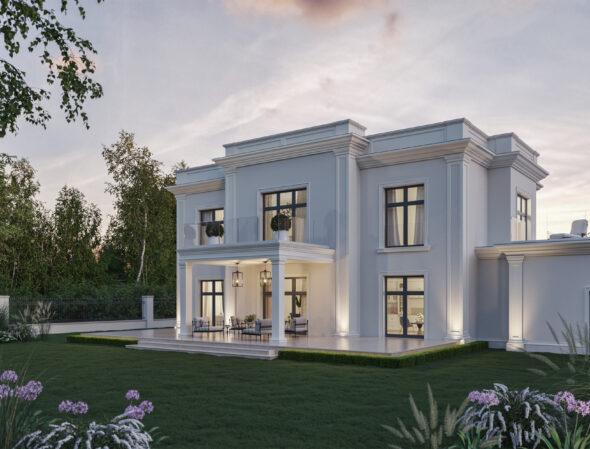 willa chic gotowy projekt domu
